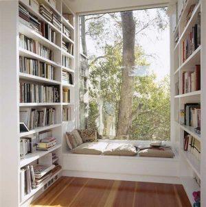 My cozy window library